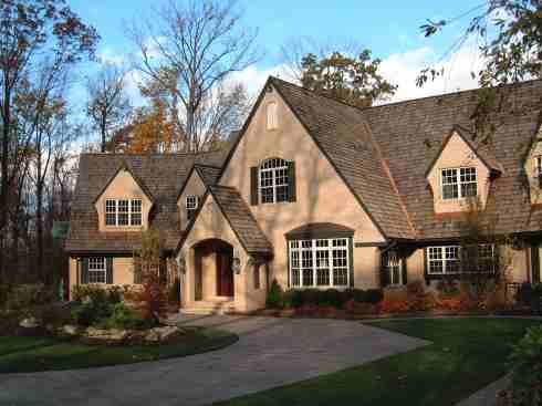 European Style Country Home